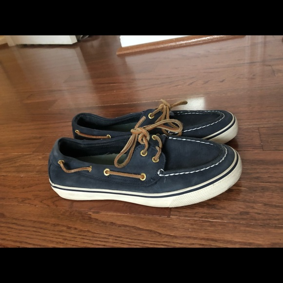 Sperry Boat Shoes In Navy Blue With